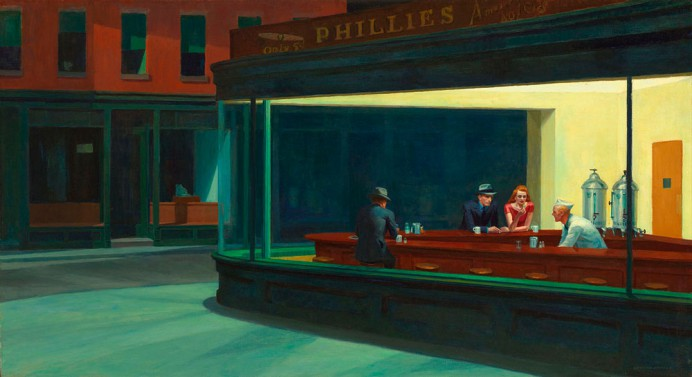How does Edward Hopper do it?