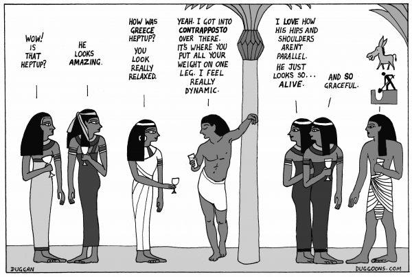 Ancient Egypt vs ancient Greece