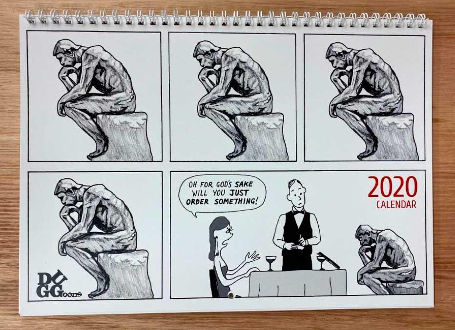 2020 Duggoons calendar